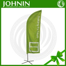 Cheap high quality custom design outdoor advertising teardrop Banner