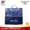New design transparent pvc plastic add non woven custom printed resealable packing bags