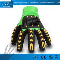 QL Impact Reducing TPR Industrial Heavy Duty Rubber Glove