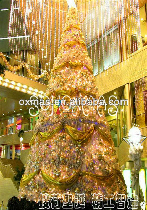 2013 natal novo design interior gigante árvore de natal