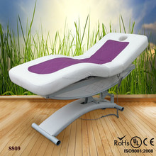 electric folding and portable infrared jade roller sex massage bed