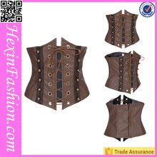 tying rope steel boning underbust corset waist training