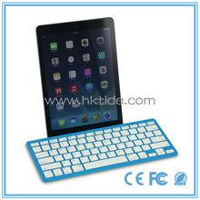 new product ultra slim colorful russian bluetooth keyboard for ipad mini 3 in russian market