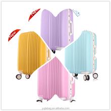Fashion universal wheel ABS / PP / PC trolley luggage