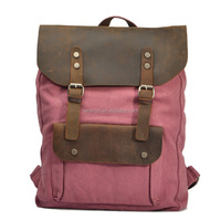 2015 Vintage canvas backpack, custom canvas backpack, cheap canvas backpack