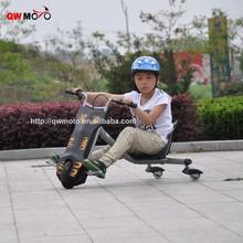QWMOTO Electric scooter mini drifting dirt bike 3 wheels motorcycle drift trike