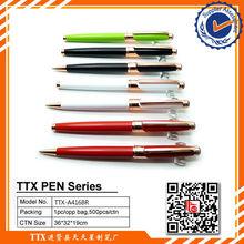 Golden ballpoint pen,high quality heavy metal ball pen