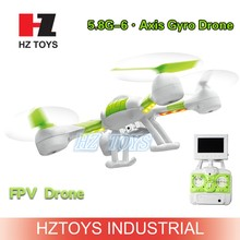 Can thrown fly 5.8G FPV rc drone helicopter wireless transmitter & receiver with 360 eversion.
