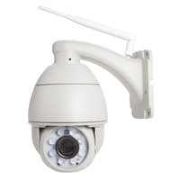 1 mega two way audio P2P 720p outdoor dome ptz full HD CCTV ip wireless camera with infrared ir-cut sd card recording