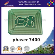 (TY-X7400A) compatible reset laser printer toner chip for Xerox phaser 7400 106R01150 106R01152 9k bkcmy