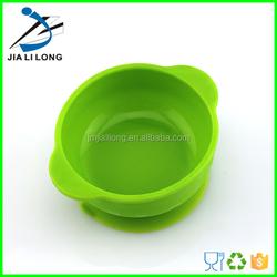 LFGB food grade silicone suction baby dinner sink bowl