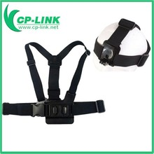 GoPros Accessories A Model Chest Band With B Model Head Band For GoPros Hero4 3+ 3 2 1-AT59