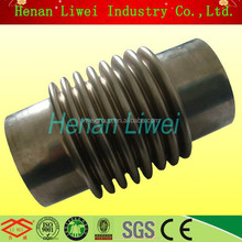 stainless steel bellows metal SS exhaust bellows expansion joint
