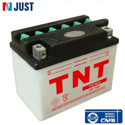 High power YB7B-B dry cell motorcycle battery with favourable price