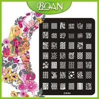 BQAN CK Series Stamping Device Nail Art Image Plate Nail Tool