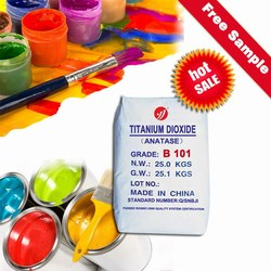 anatse grade titanium dioxide b101 water-based paint raw material