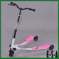Folding dual pedal wave scooter with two wheels,Interesting Speeder wave scooters for kids G17B108
