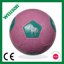 Pink football for girls