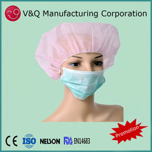 Non woven 3 ply 17.5*9.5 medical face mask for hospital