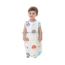 factory supplier kids high quality sleeping towels six layer gauze sleeping robe