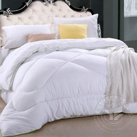 plain dyed manufacter polyester/cotton down comforter wholesale in bedding set
