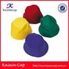 wholesale colorful short brim soft blank nylon bucket hat