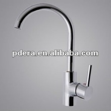 2012 Single level brass kitchen sink faucet
