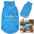 nuevo estilo lindo para mascotas ropa de verano cachorro de perro camiseta polo azul cómodo