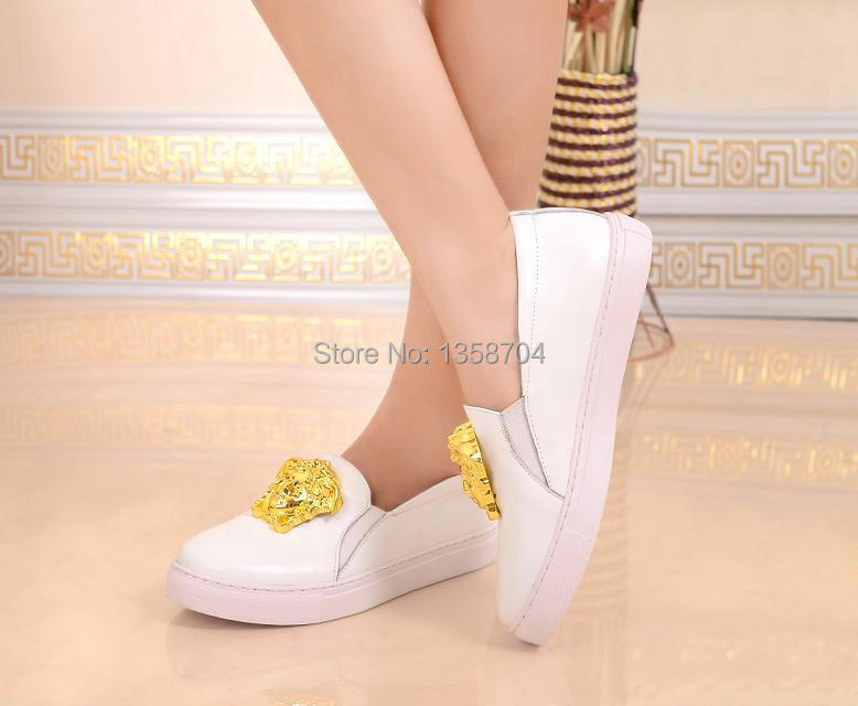 Woman Flats Shoes. 2014 Elastic Casual Fashion Woman Shoes High End