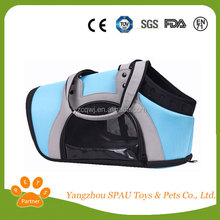 Portable Wholesale leather dog carrier