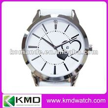 12 dots Index quartz watch with date for promotion