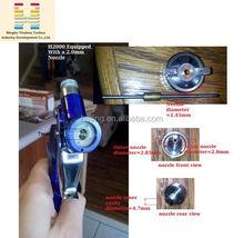 HVLP Mini Air H2000 Conventional Manual Car Spray Gun