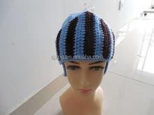 Factory manufacture helmet crochet baby winter hats