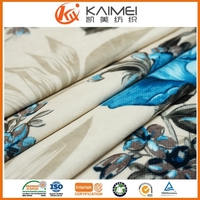 changshu factory customized printing design soft velvet fabric french fabric for lady's clothing