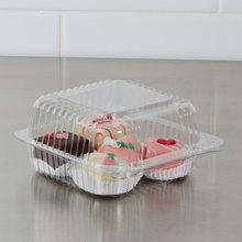 Disposable Plastic PET Cake Container