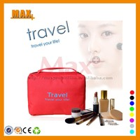 Max+ 2014 Fashion Wholesale Cosmetic Pouch Custom Cosmetic Bag Beautiful Cosmetic Travel Bag