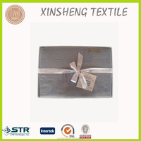 STOCK Microfiber sheet set with box packing 1800 thread count Double burshed fabric in Nantong