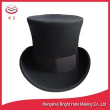 100% Australian Wool Felt Juggling Hat , Top Hat , President Hat