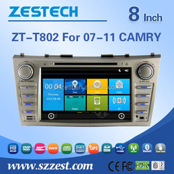 8 inch touch screen in-dash car dvd gps For TOYOTA 2007-2011 CAMRY support Radio/Audio/GPS/DVD/RDS/Bluetooth/MP4 player/HDMI