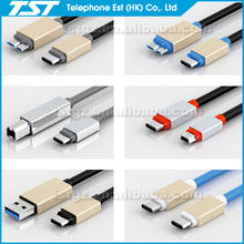 TST new usb type c cable micro usb cable