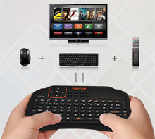 2015 NEW 100% Original 2.4G Mini Wireless Fly Air Mouse Keyboard and Touchpad for Mini PC Android TV BOX Laptop