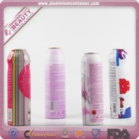 Vacuum Coated Aluminum Aerosol Can