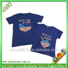 promotion item couple t-shirt design wholesale