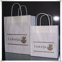 white paper bag and the fashion bag