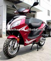 good quality popular 50cc 4 stroke EEC SONIK gas scooter