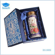 China Blue and white porcelain pen with paper box gift box packaging