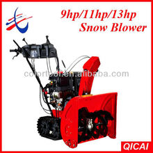 9HP Loncin spares Snow Blower,Snow Thrower,Snow Removal Equipment With track