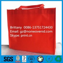 Newest PP Woven Shopping Hand Bag Promotional Bopp Laminated PP Woven Bag