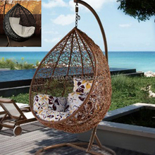 all weather waterproof round rattan outdoor bed outdoor swing