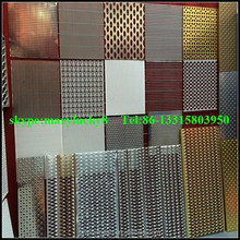 anping supplier perforated metal mesh price(hot sale)